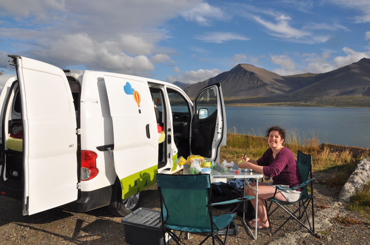 Iceland Ring Road by Camper